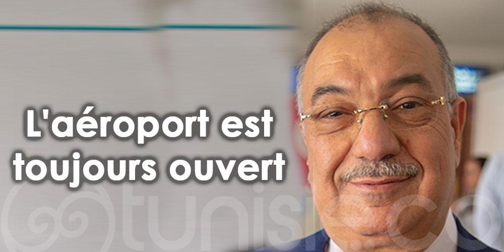 Néji Zitoun: L'espace aérien tunisien n'est pas fermé
