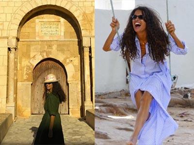 En 3 photos : L'amour de Afef Jnifen pour sa Tunisie