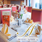 Un buffet à volonté pour la rupture du jeûne à l´hôtel Africa Tunis
