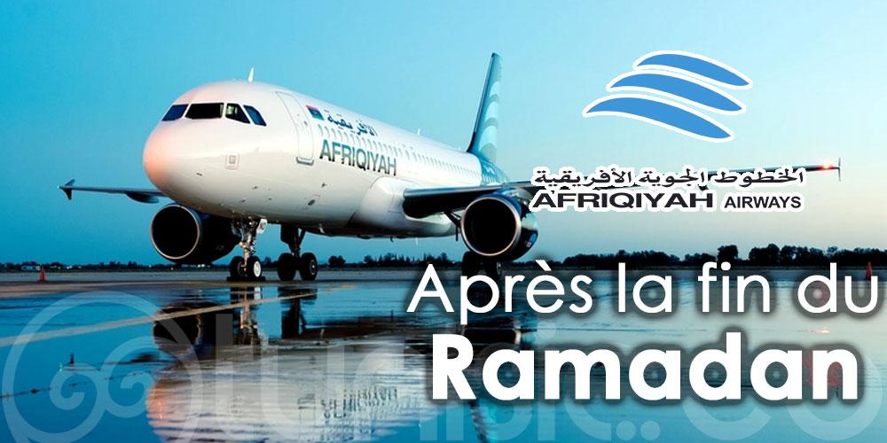 Afriqiyah Airways reliera à nouveau la Libye à la Tunisie