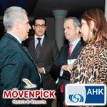 En photos : Cinquante chefs d'entreprises de l'AHK au Mövenpick Sousse