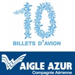 10 billets d'avion à gagner depuis Tunis et Paris avec Aigle Azur