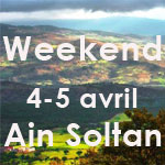 Weekend-Randonnée au village de AIN SOLTAN au nord-ouest de la Tunisie les 4 et 5 avril 2015
