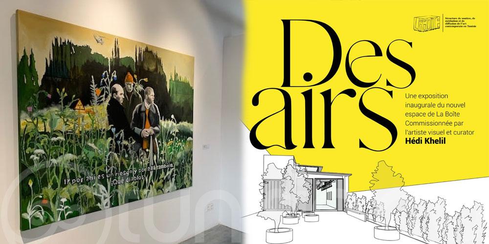 L'exposition 'Des airs' à La Boîte se prolonge!