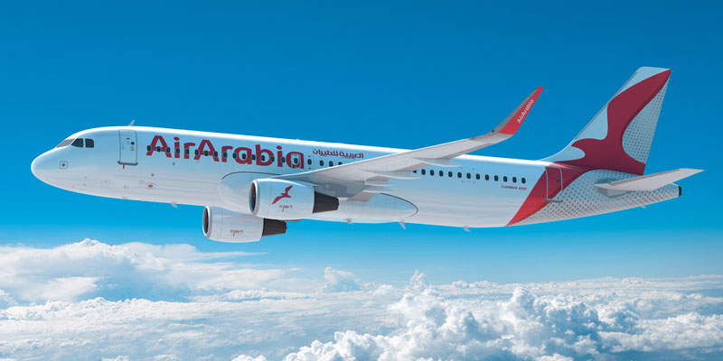 العربية للطيران تطلق رحلات مباشرة بين الشارقة وتونس 4 جويلية