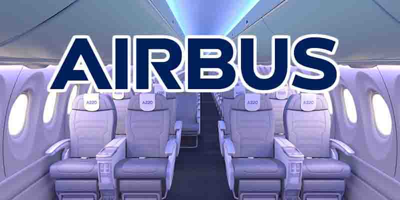 Airbus célèbre la production du 100ème A220