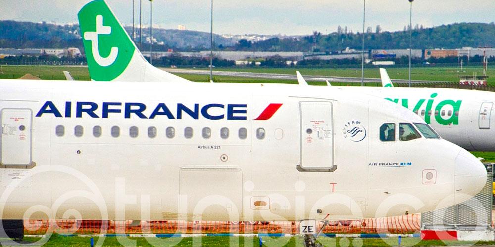 Air France et Transavia maintiennent 10 vols par semaine entre Tunis et Paris