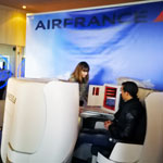 En vidéo : AirFrance dévoile son fauteil Business Long Courrier à Tunis