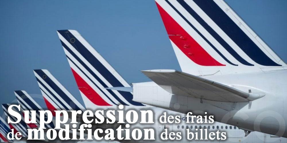 Air France supprime les frais de changement sur ses vols
