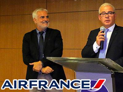 En vidéo : AIRFRANCE Tunisie accueille Jean Marc Breton comme nouveau Directeur