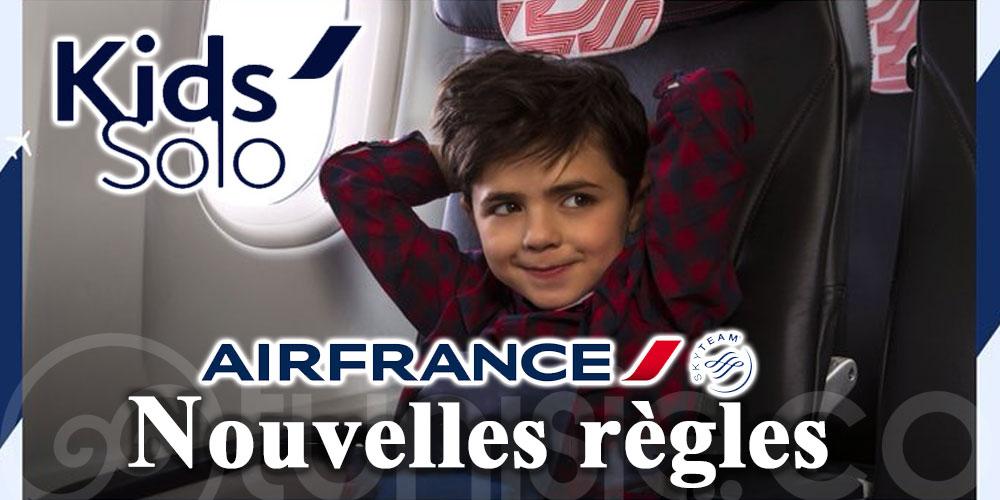 Enfants voyageant seuls : les nouvelles règles d'Air France