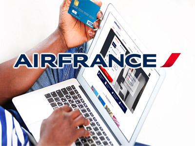 Achetez avec votre carte de crédit tunisienne sur AirFrance.tn et bénéficiez de réduction vers Paris