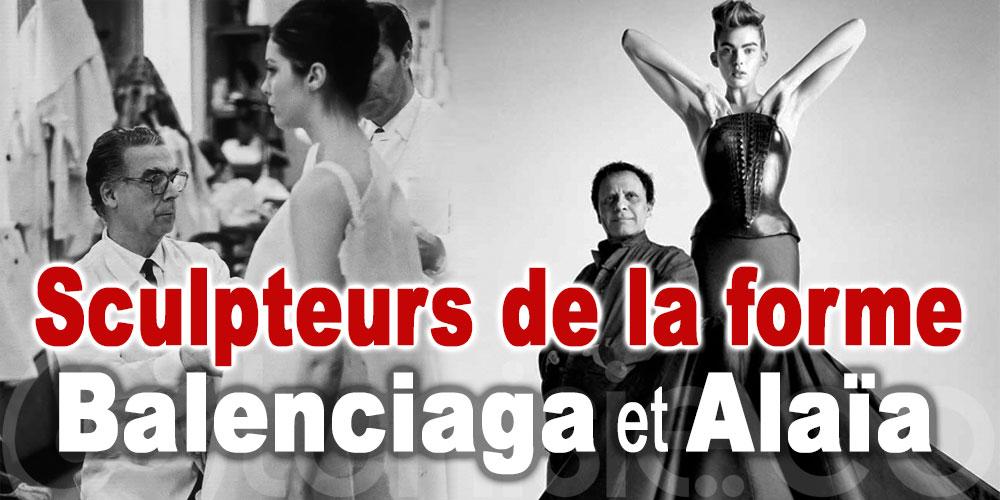 Sculpteurs de la forme, l'exposition qui explore le lien entre Alaïa et Balenciaga