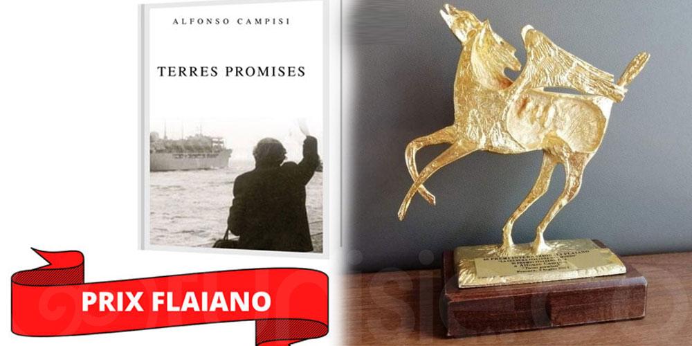 ''Terres promises'' d'Alfonso Campisi remporte le Pégase d'or du Prix Flaiano littérature et narrative