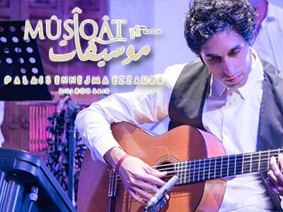 ALFONSO LINARES au festival Mûsîqât le 14 Octobre à Ennejma Ezzahra