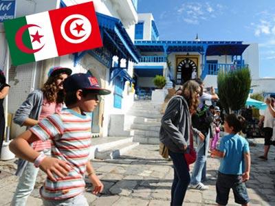 1.45 million de touristes algériens ont visité la Tunisie durant l'année 2017