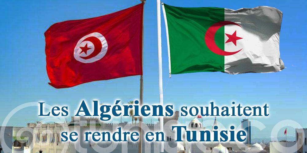 Les Algériens souhaitent se rendre en Tunisie