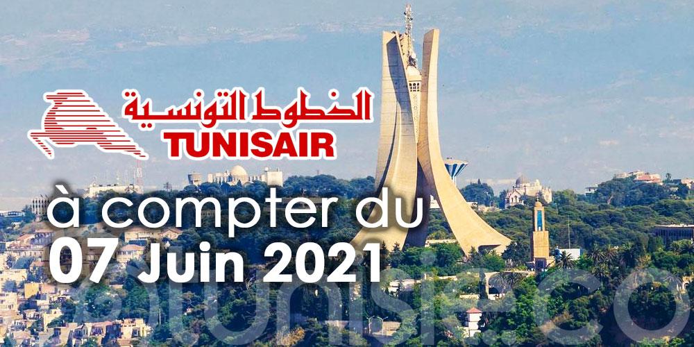 TUNISAIR reprend enfin ses vols vers l'Algérie