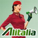 ALITALIA propose le Tunis Rome à 343 Dt et des offres incroyables pour le reste du Monde