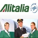 ALITALIA : Offres vers l'Italie et l'Europe depuis Tunis