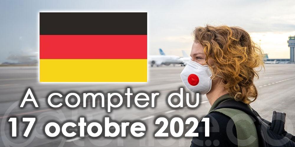 L'Allemagne retire la Tunisie de la liste rouge