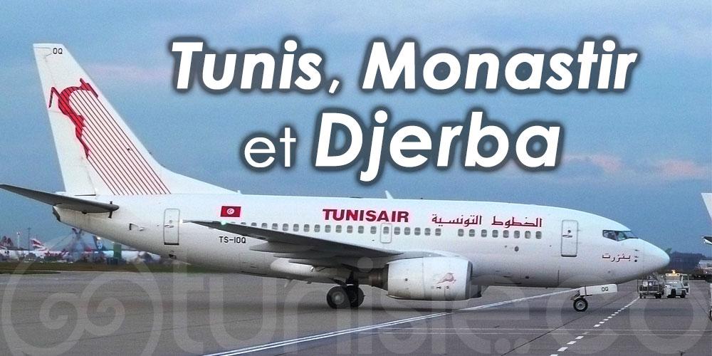 Voici les vols Tunisair programmés vers l'Allemagne pour Juillet