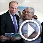 En vidéo : Inauguration par le ministre du tourisme du Salon du tourisme alternatif