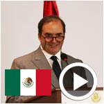 En vidéo : SEM l'ambassadeur du Mexique Juan González Mijares parle de la cuisine Mexicaine
