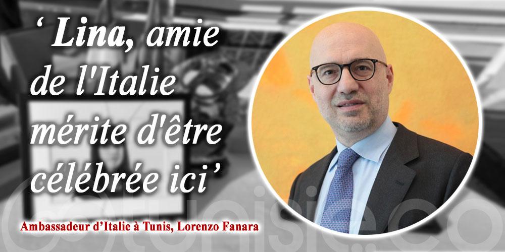 Ambassadeur d'Italie: Lina, amie de l'Italie mérite d'être célébrée ici