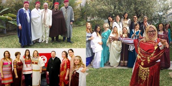 En photos : Ces ambassades qui se sont habillées aux tenues de la Tunisie
