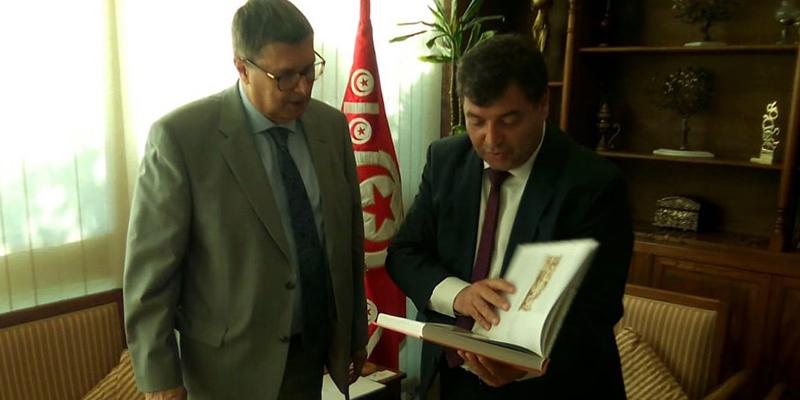 Rencontre entre l'ambassadeur russe en Tunisie et René Trabelsi
