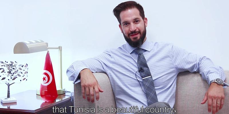 En vidéo, Jonathan l'Américain nous parle de son expérience en Tunisie