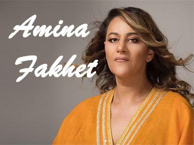 Les 13 concerts de la diva Amina Fakhet