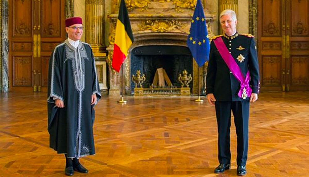 En Jebba, l'ambassadeur Nabil Ammar rencontre le Roi de Belgique