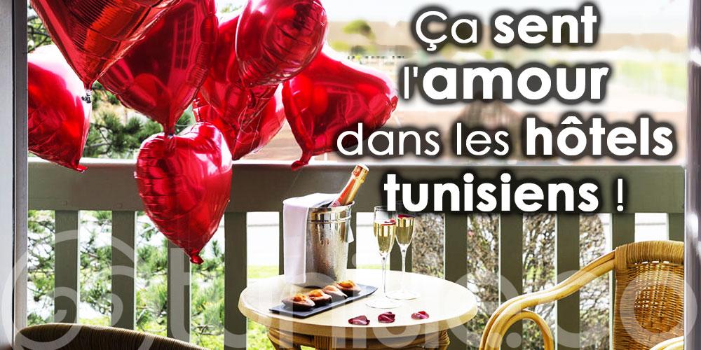 Ça sent l'amour dans les hôtels tunisiens !