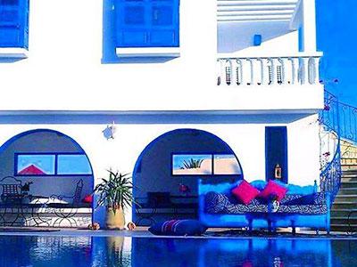 En photos : Découvrez l'Amphora Menzel, une charmante maison d'hôtes à Djerba