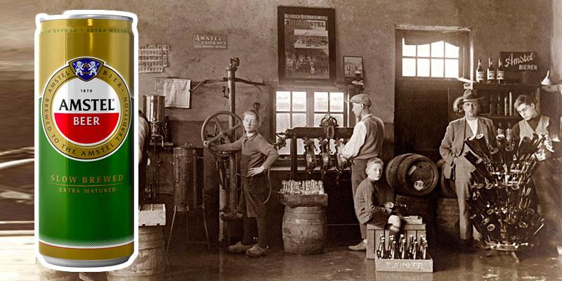 La légendaire bière Amstel débarque en Tunisie