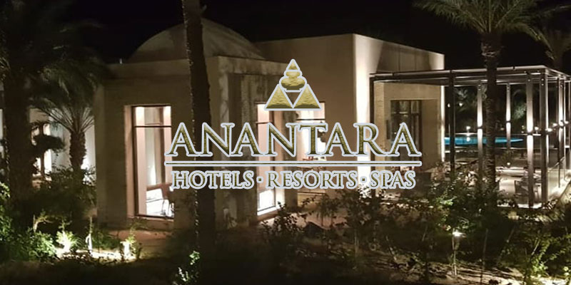 Imminente ouverture du plus bel hôtel de Tozeur, Anantara (photos)