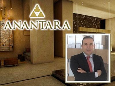 Lotfi Mosbahi prend la direction du nouveau Anantara Tozeur Resort & Spa