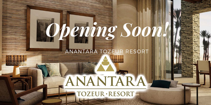 Anantara Tozeur Ressort : Vous pouvez booker votre séjour dés maintenant !