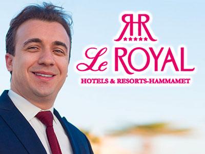 Anis Suissi nommé Directeur d'hôtel du Royal Hotels & Resorts - Hammamet