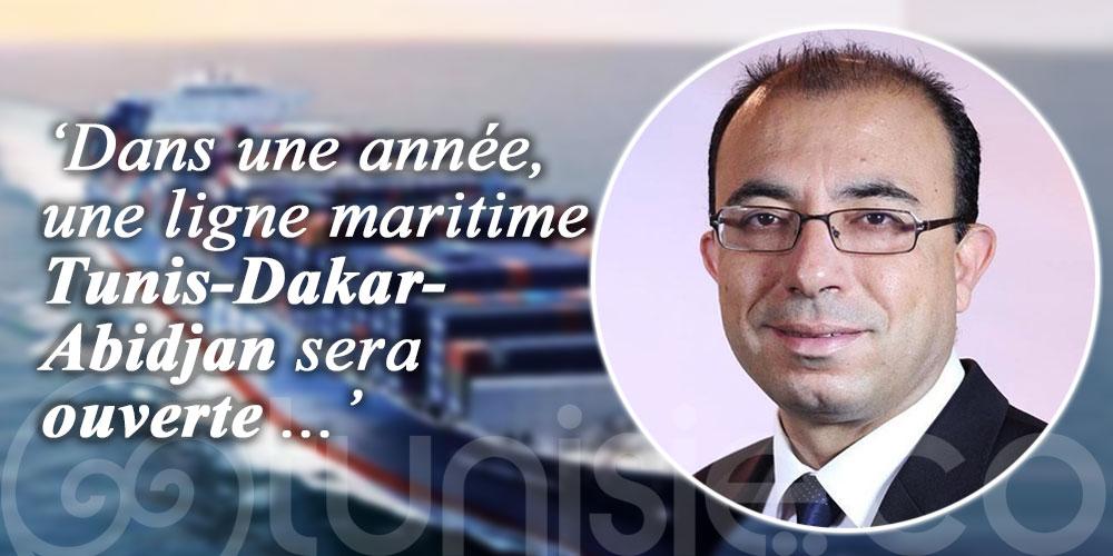 Vers l'ouverture d'une ligne maritime directe reliant Tunis Dakar et Abidjan