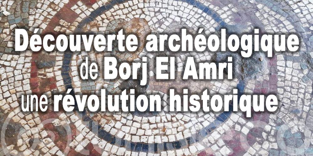 La découverte archéologique de Borj El Amri représente une révolution historique