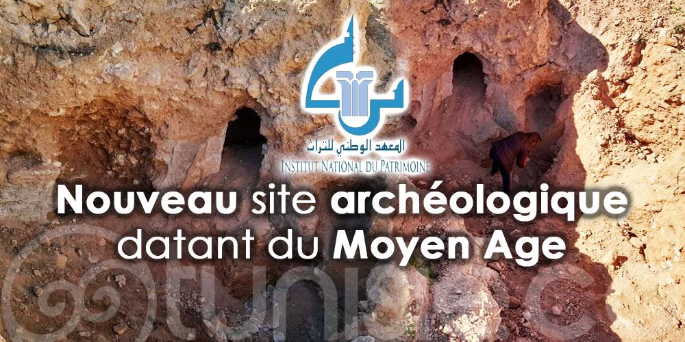 Découverte d'un nouveau site archéologique datant du Moyen Age