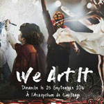 Journée artistique We Art It le 25 Septembre à l´Acropolium de Carthage