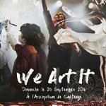 Journée artistique We Art It le 25 Septembre à l´Acropolium de Carthage