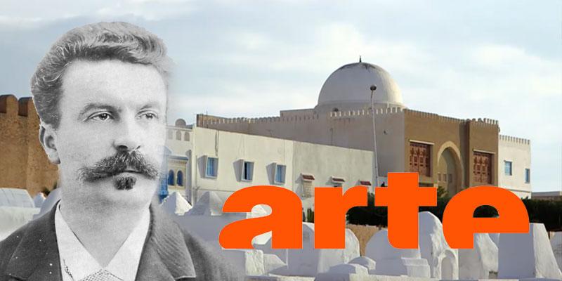 La vie errante de l'écrivain Maupassant en Tunisie sur ARTE