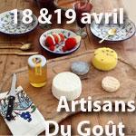 Weekend dégustation/vente de produits naturels et du terroir les 18 et 19 avril chez Rock The Kasbah à Sidi Bou Said