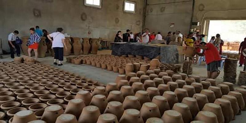 En photos : La 7éme édition du festival de poterie et de l'artisanat à Moknine