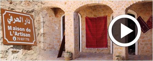 En vid o la maison de l 39 artisan b ni kh dache un for La maison de l artisan